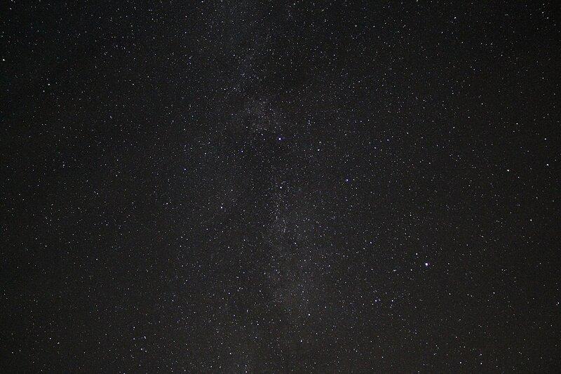 Млечный путь 23 ноября 2014 г. Астрономический выезд в Шалегово (Оричи, Кировская область)