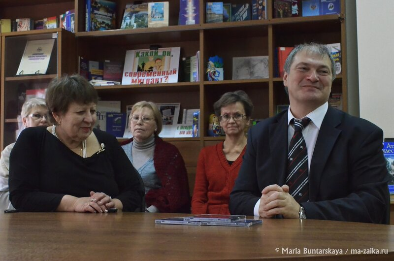 Передача DVD и СD дисков с записями спектаклей театра кукол 'Теремок', Саратов, СОУНБ, 15 декабря 2014 года