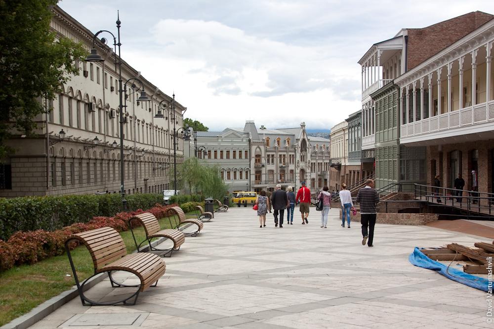 Грузия, Тбилиси, ул. Пушкина
