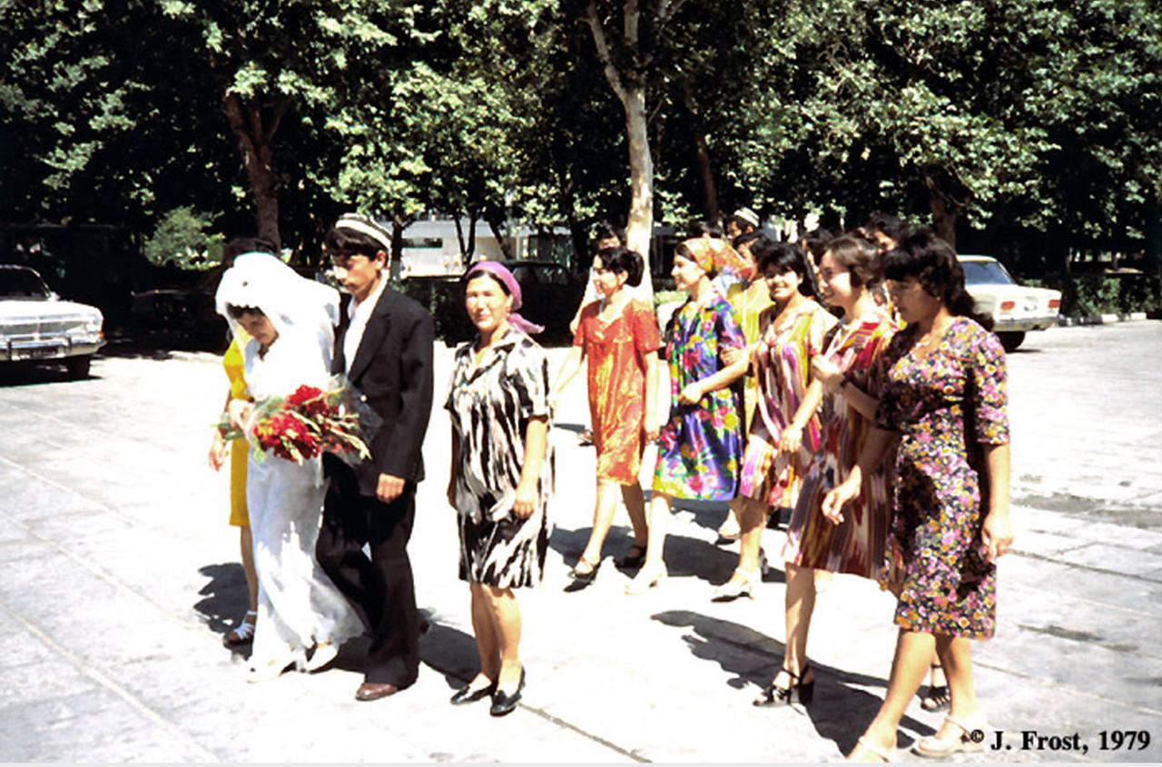 1979. Свадебная церемония в Бухаре