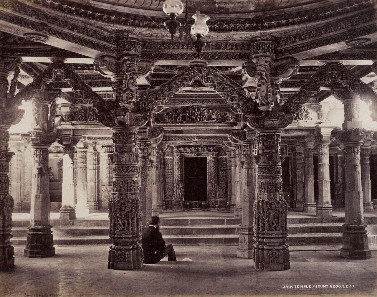 Храм Дилвара Джейн. Маунт Абу. 1872