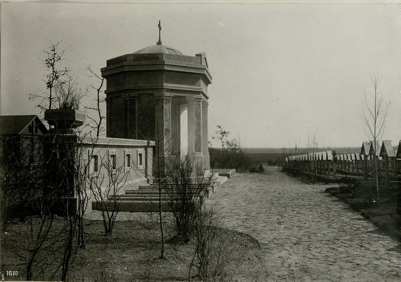 Солдатская кладбищенская часовня (7/IV.1918)