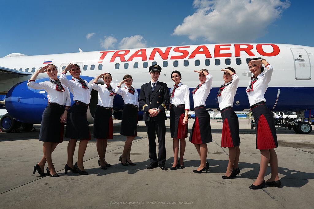 Трансаэро: новый самолёт - новая ливрея...