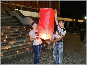 В Бельцах зажгли «свечи памяти» в честь Дня Победы