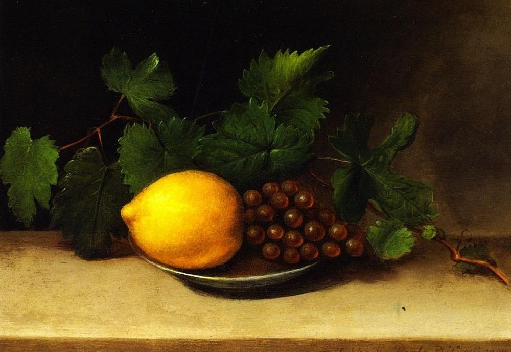 Рафаэль Пил. Лимон и виноград. 1818