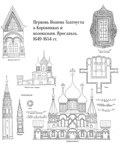 Церковь Иоанна Предтечи в Толчкове, Ярославль, фасад