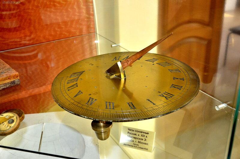 Солнечные часы XIX века.