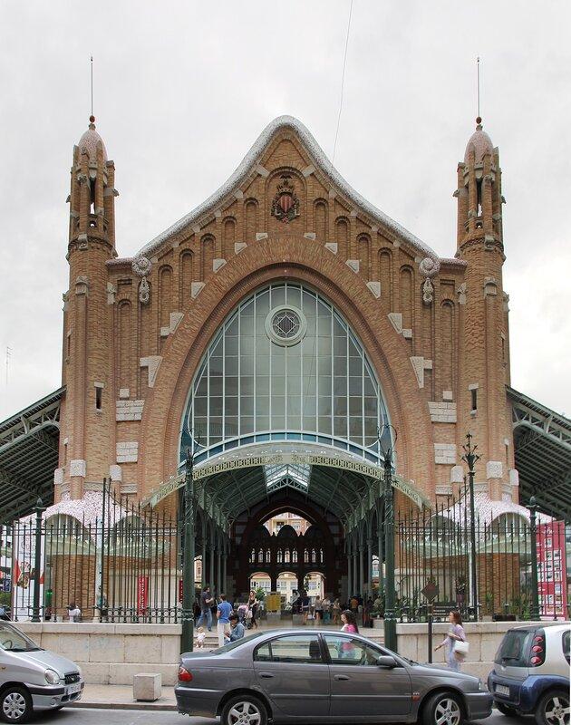 Валенсия. Рынок Колумба (Mercado Colón)
