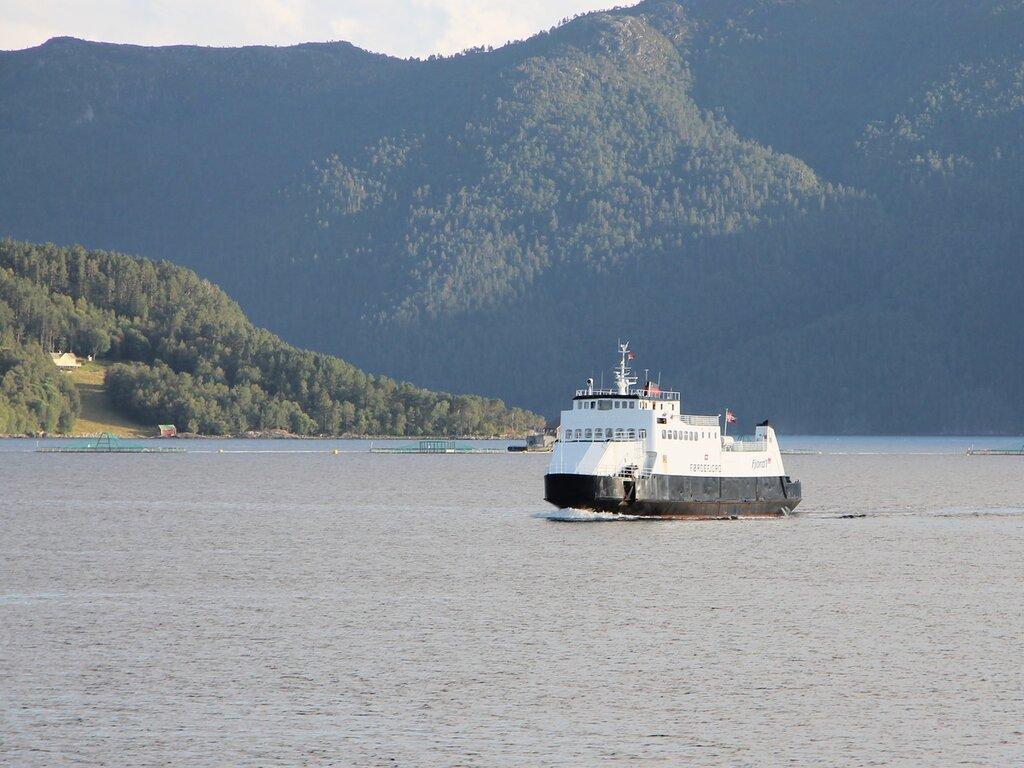 Western Norway, Halsaford, ferry