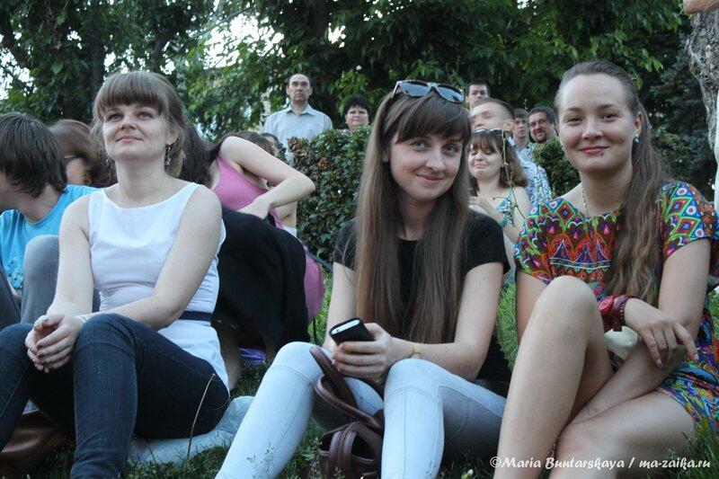 Открытый показ фильма 'Легенда №17', Саратов, Набережная Космонавтов, 11 июня 2013 года