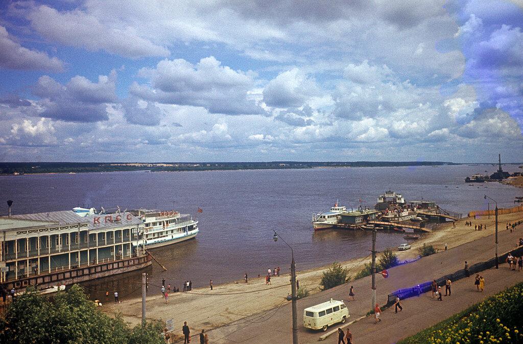 Река ВолгаЧувашская АССР, Чебоксары