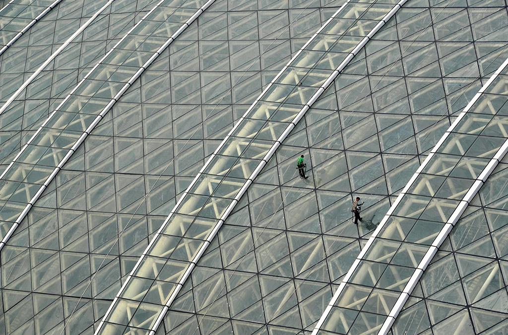 В Китае построили самое большое здание в мире.