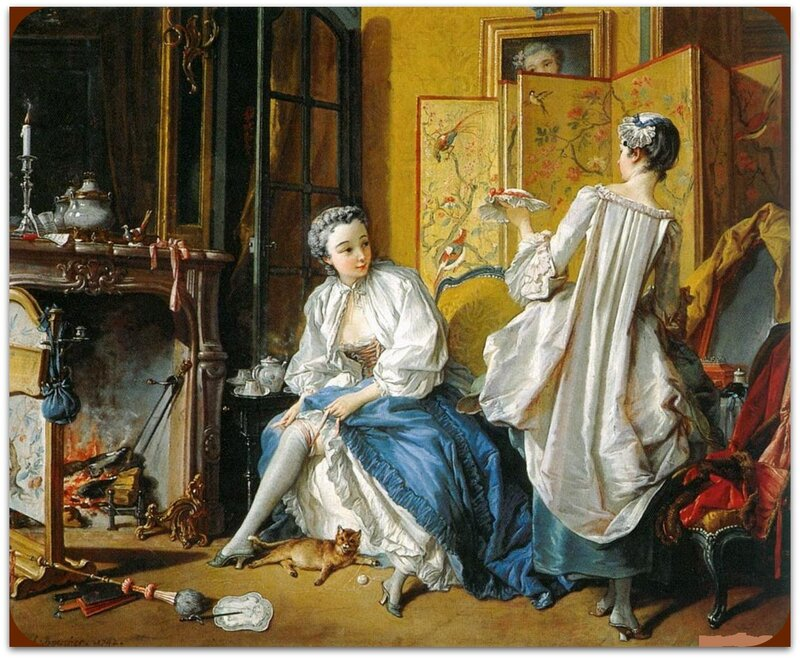 Картины старых мастеров, Франсуа Буше, Туалет.jpg