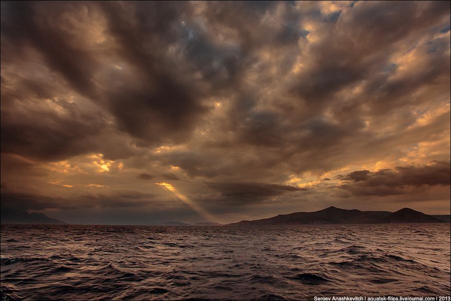 Эгейское море в мае