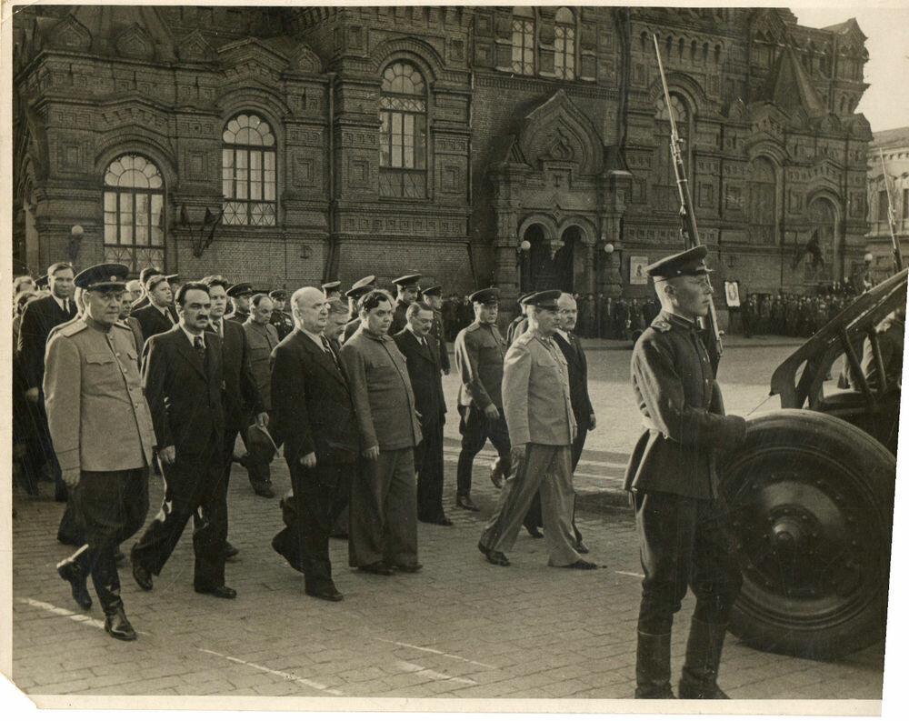 Похороны Калинина в Москвею 1946 г