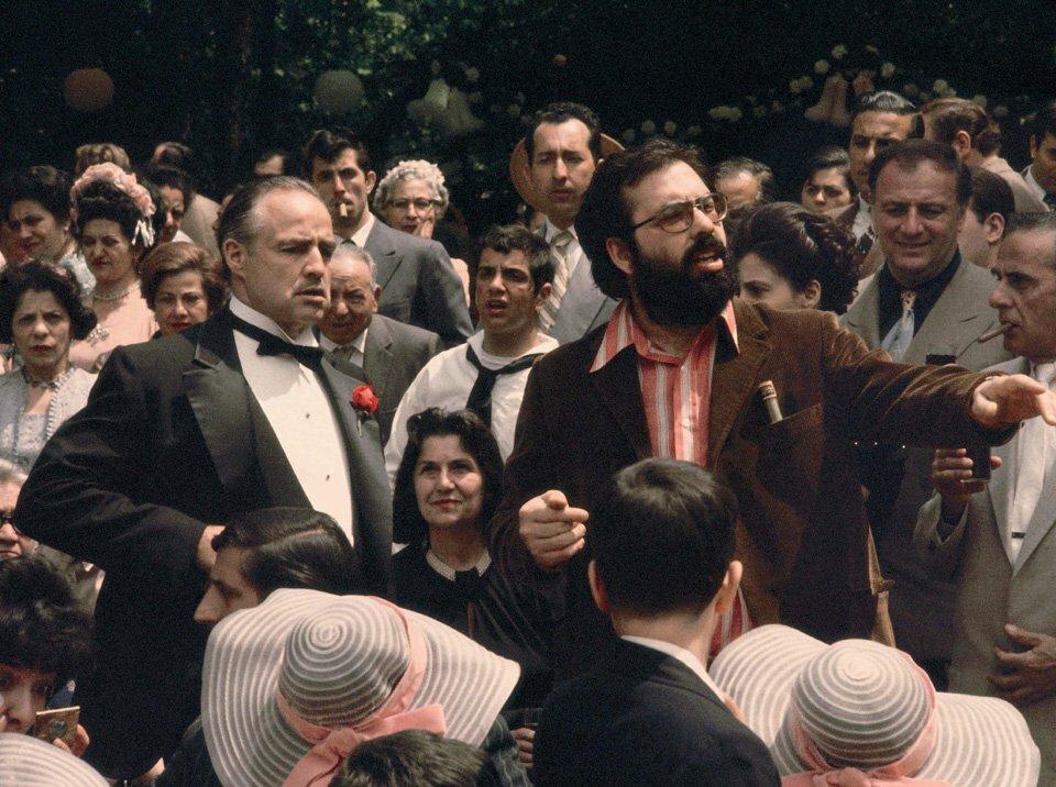 1972. На съемках «Крестного отца»