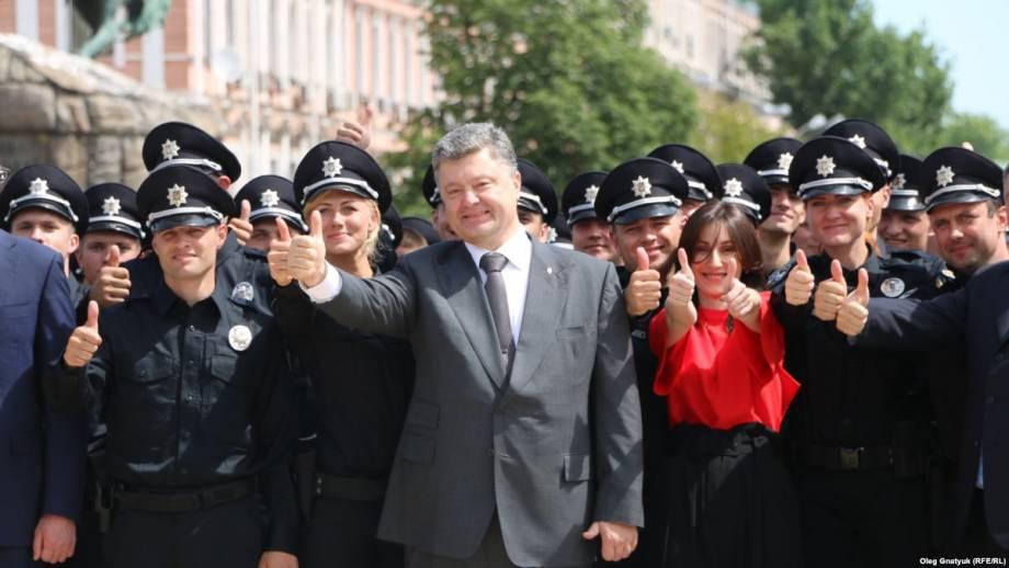 Порошенко подписал указ об учреждении 4 июля Дня полиции Украины