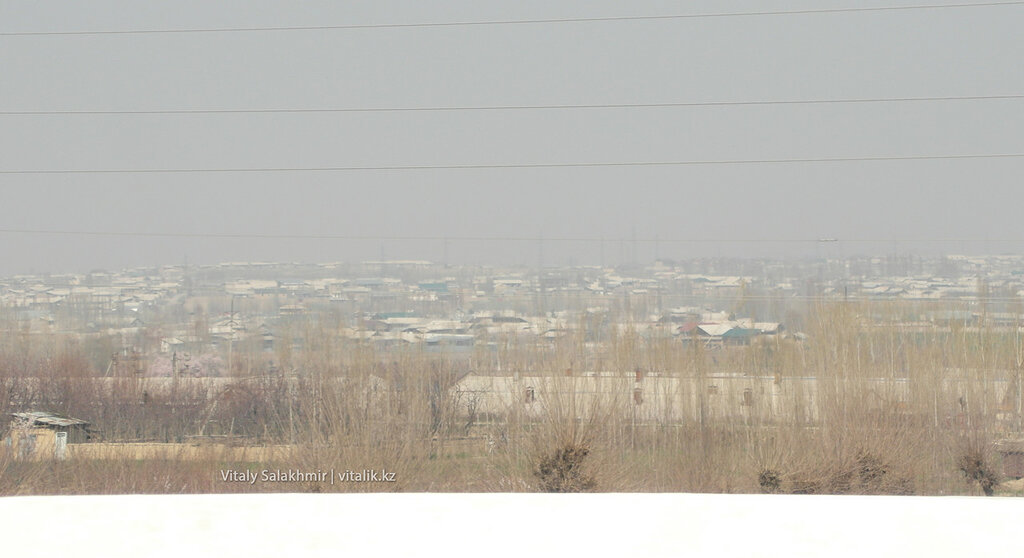 Панорама города Андижан, Узбекистан