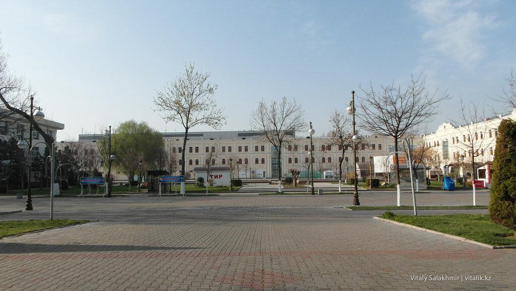 Площадка в центре Ташкента