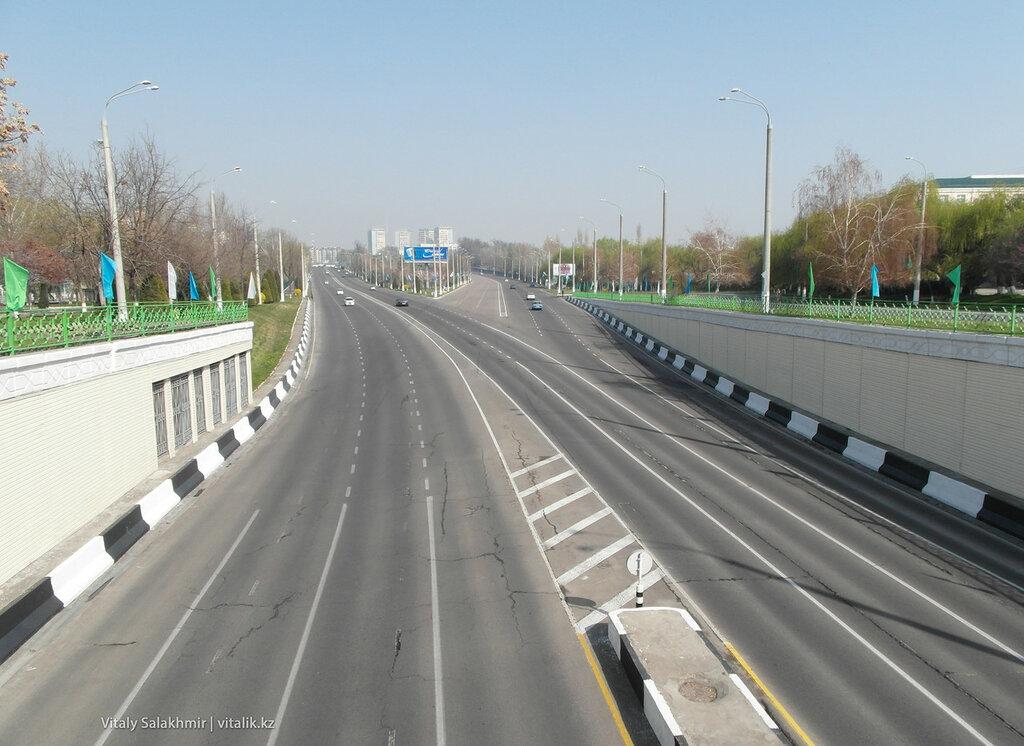 Дороги в Ташкенте