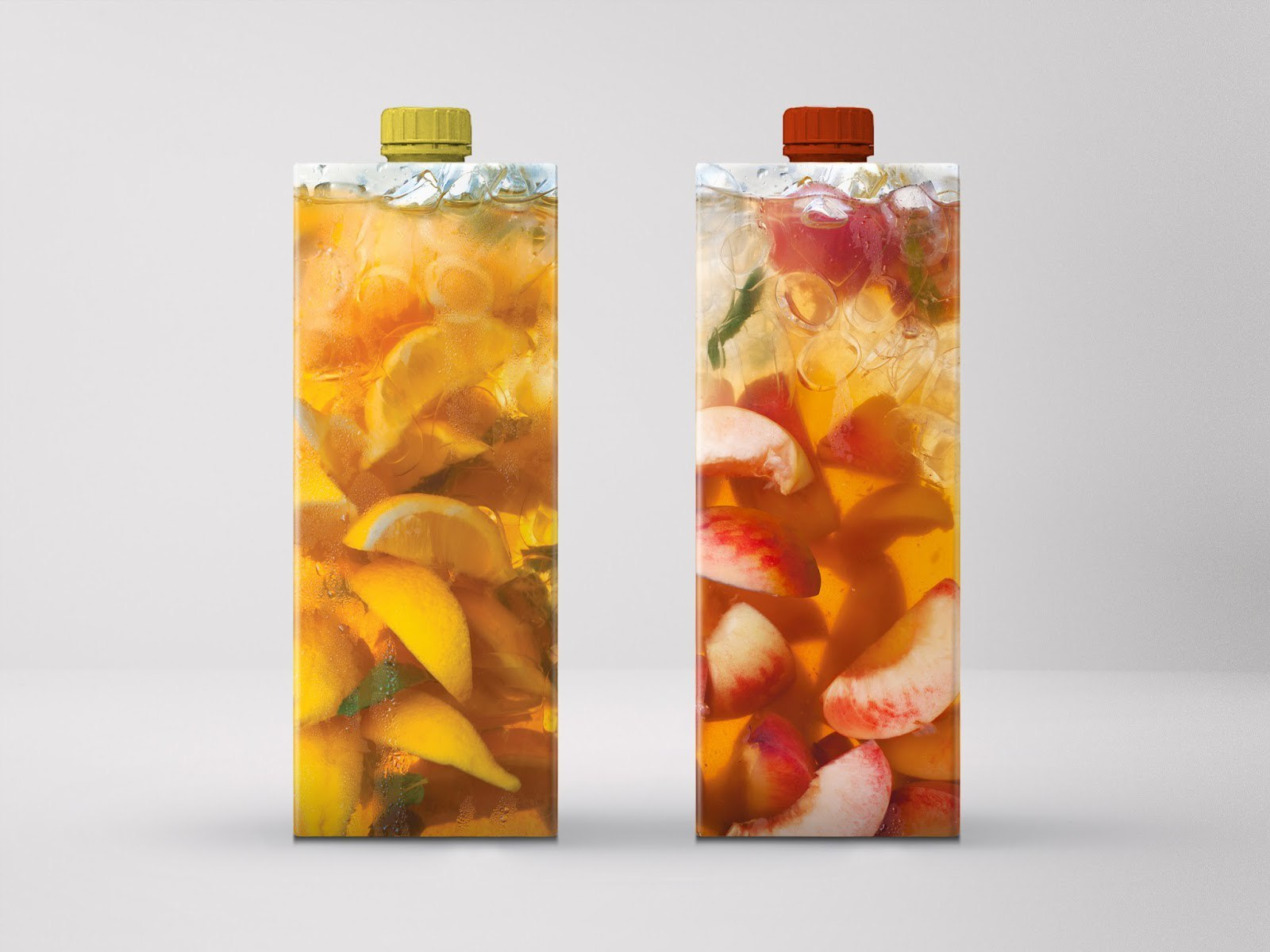 Дизайн упаковки холодного чая
