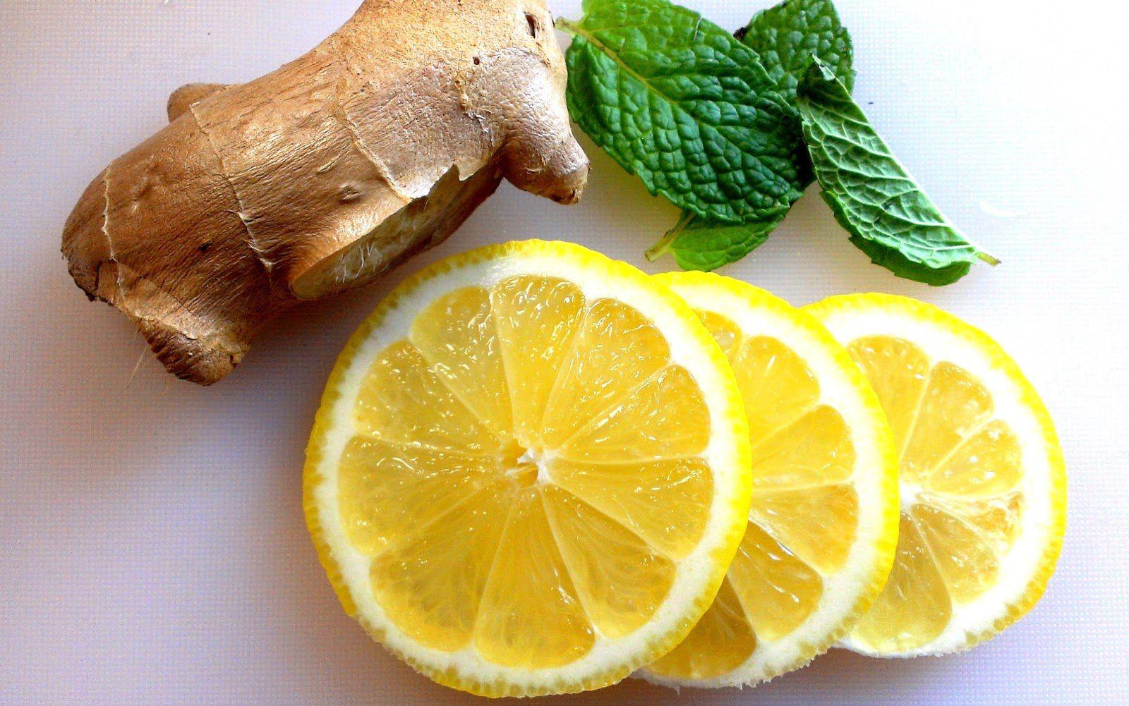 Имбирь с лимоном польза