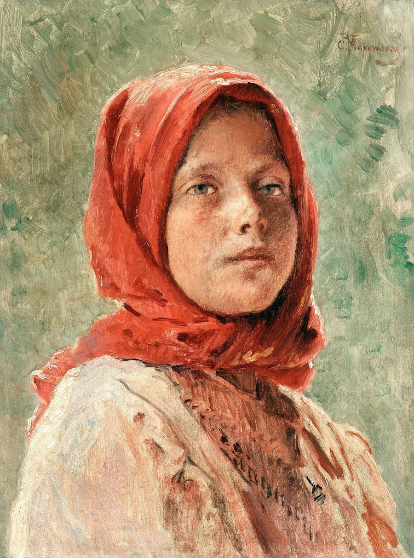 Крестьянская девушка Частное собрание.