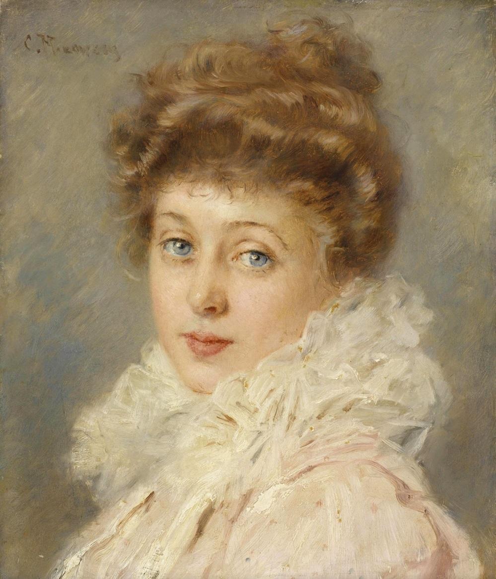 Портрет дамы Частное собрание.