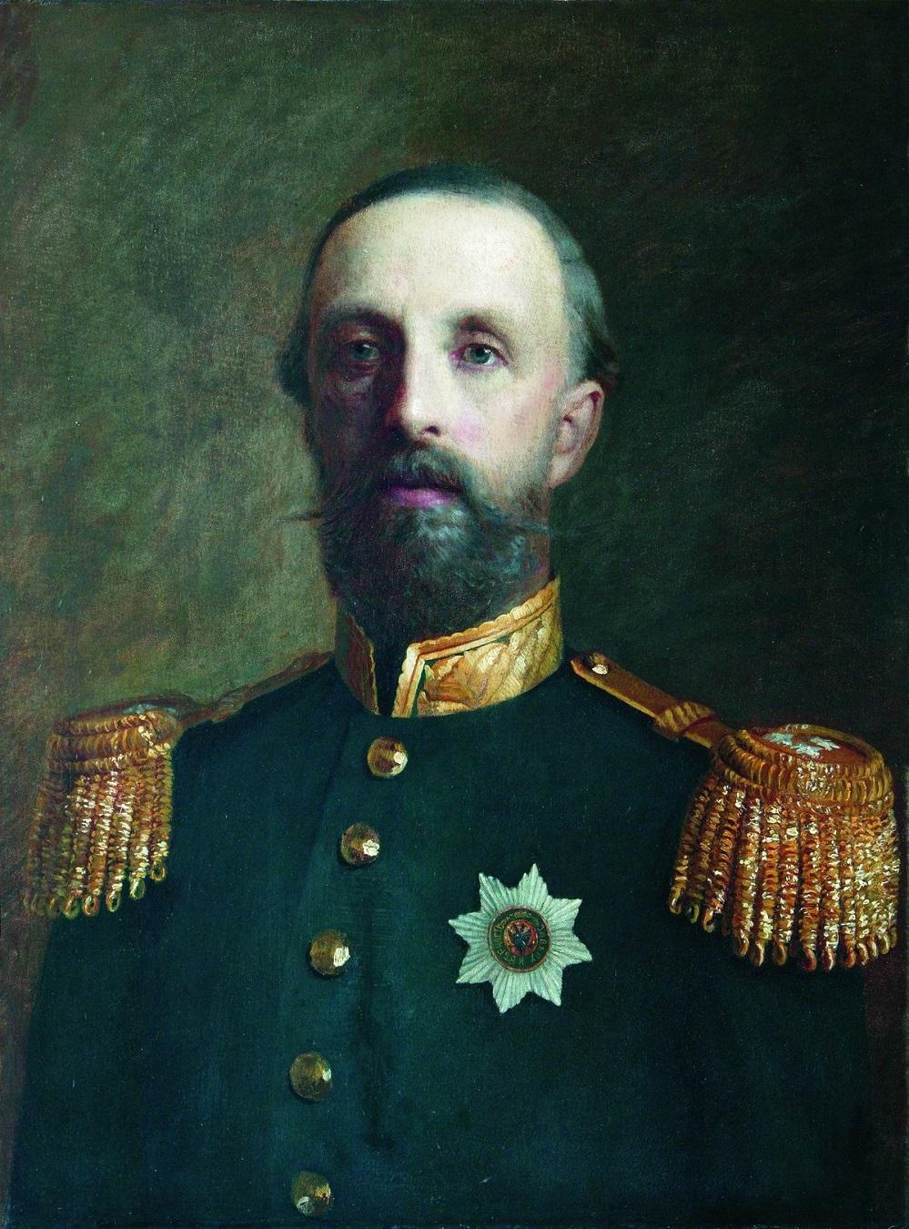Принц Оскар Бернадот, герцог Остготландии. 1860-1870.  Частное собрание.