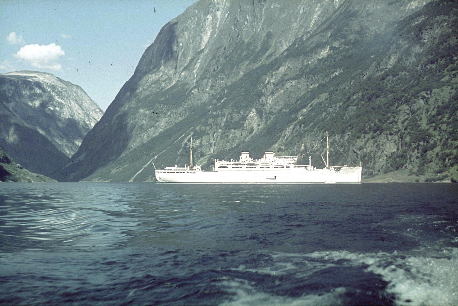 Гейрангер-фьорд. Пассажирское судно «Милуоки»