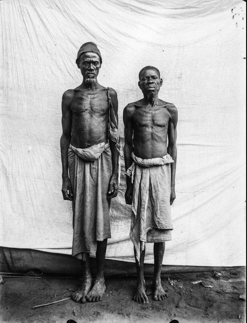 67. Портрет двух пожилых мужчин