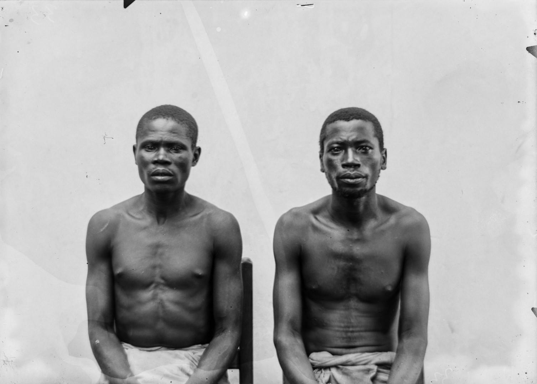 91.  Антропометрическое изображение мужчин маконде и яо