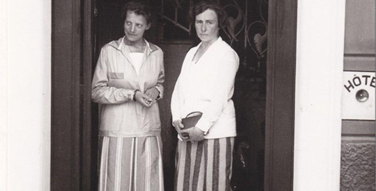 1926. Анастасия и Гарриет фон Ратлеф в Лугано