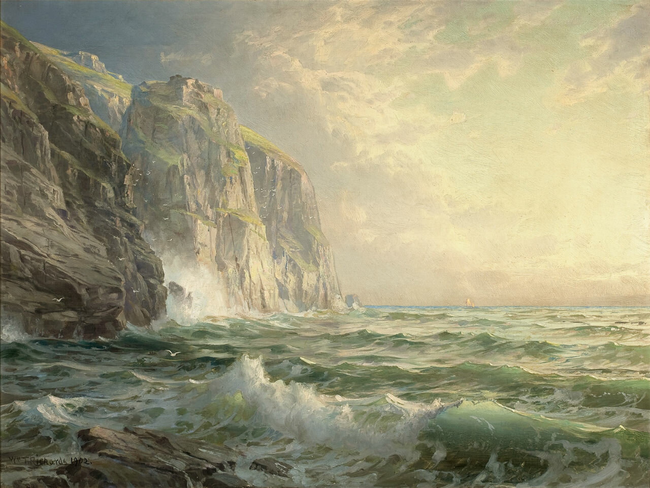Любовь похожа на море. Огромное море любви. Бесконечное...
