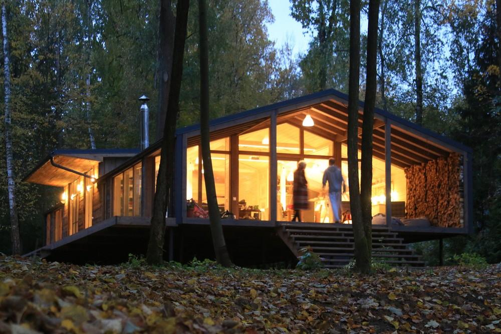 Модульный дом в Подмосковье, который можно собрать за 10 дней