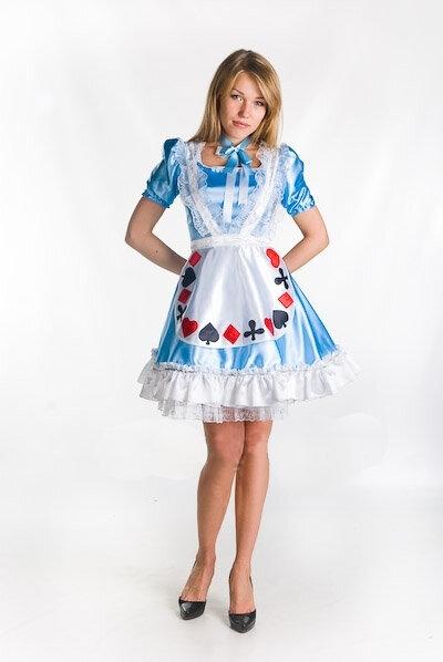Платье алисы в стране чудес на прокат