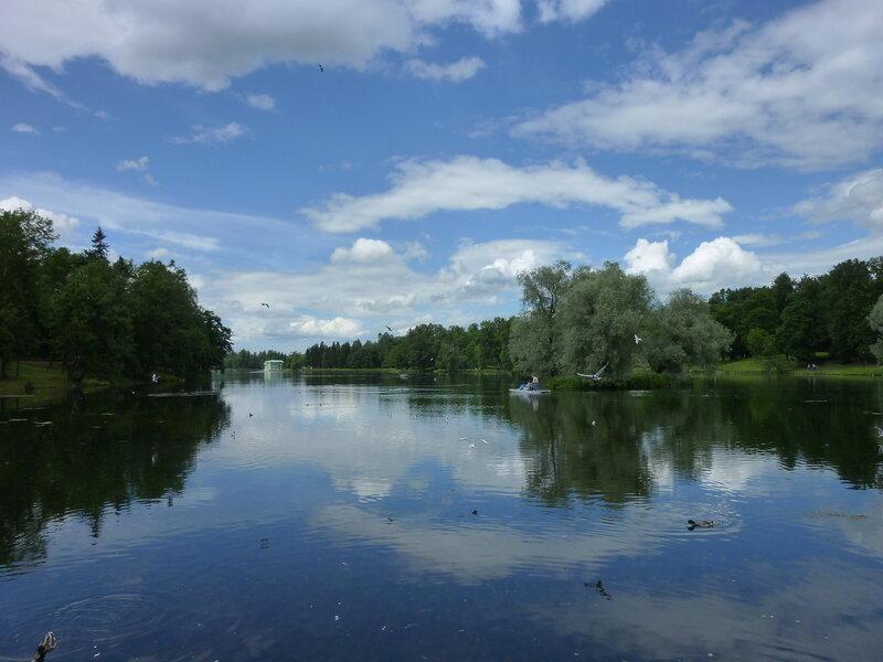 Белое озеро в Английском саду