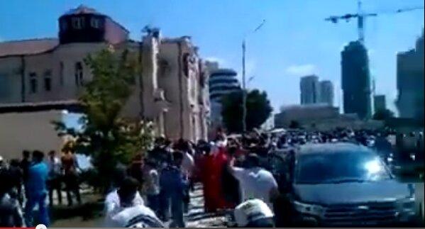 В Чечне атаковали офис Билайн