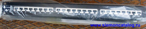 "HD5-S-24  Siemon  Патч-панель 19"" 1RMS серии HD 24 порта Cat.5е T568A/B экранированная"