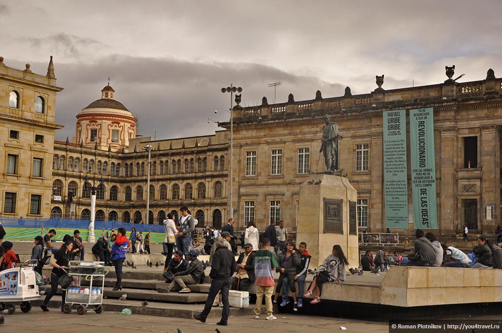 0 177d80 68a0b14b orig День 201 202. Охота за туристической картой Боготы и многочасовые прогулки по историческому району Ла Канделария   La Candelaria