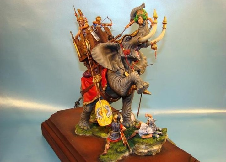 Главные древние сражения с участием боевых слонов