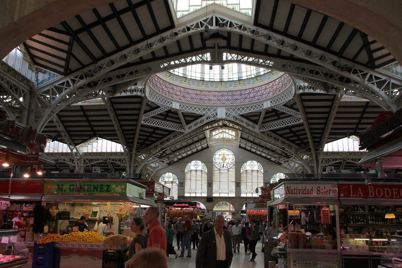 Валенсия, Центральный рынок (Mercado Central)