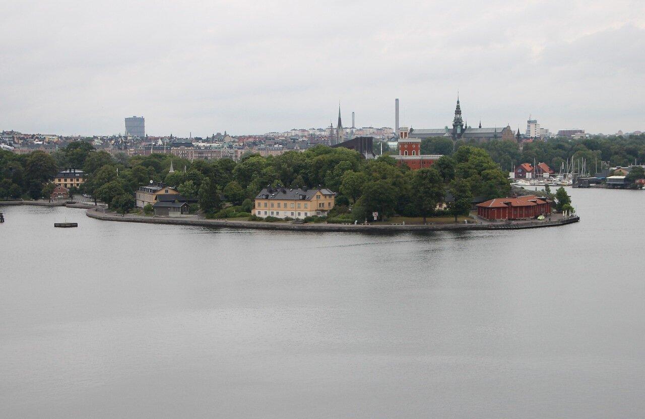 Stockholm. Стокгольм. остров  Kastellholmen.