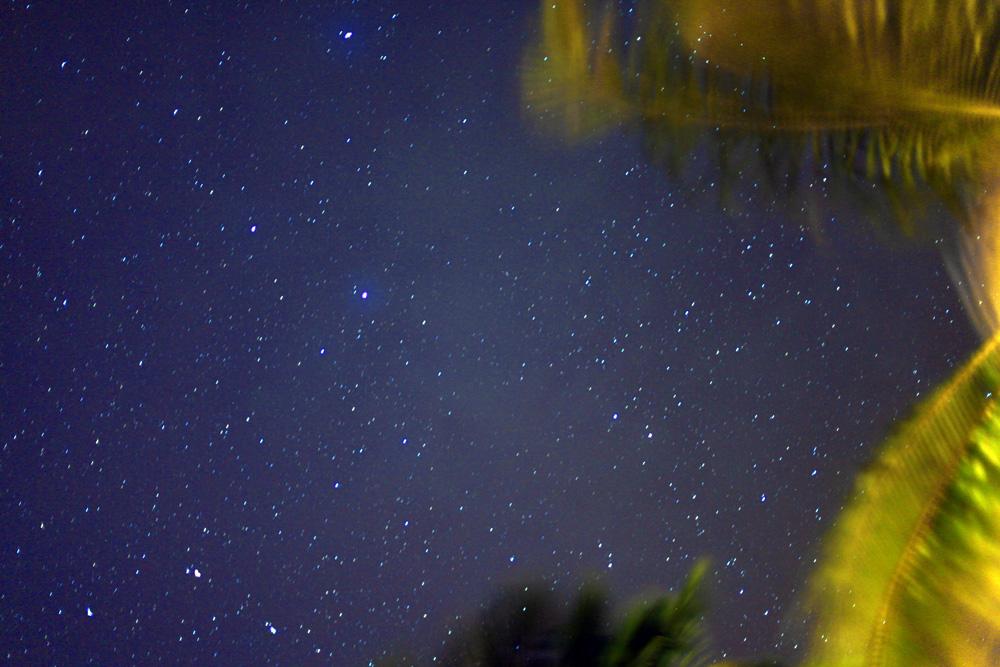 звездное небо на мальдивах