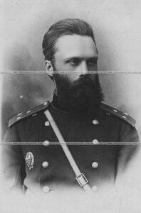 Поручик бригады в сюртуке (портрет).