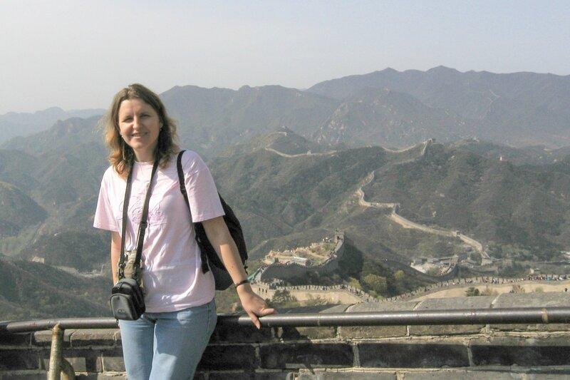 Я на Стене, Великая китайская стена, Бадалин