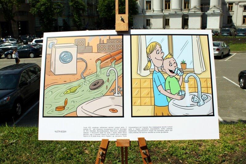 В Украине грязная вода