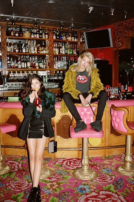Анна Спекхарт и Валерия Сестич / Anna Speckhart and Valerija Sestic by Jason Lee Parry for Nasty Gal fall 2013