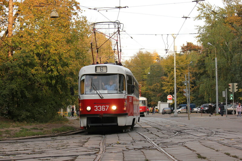Трамвай 3367