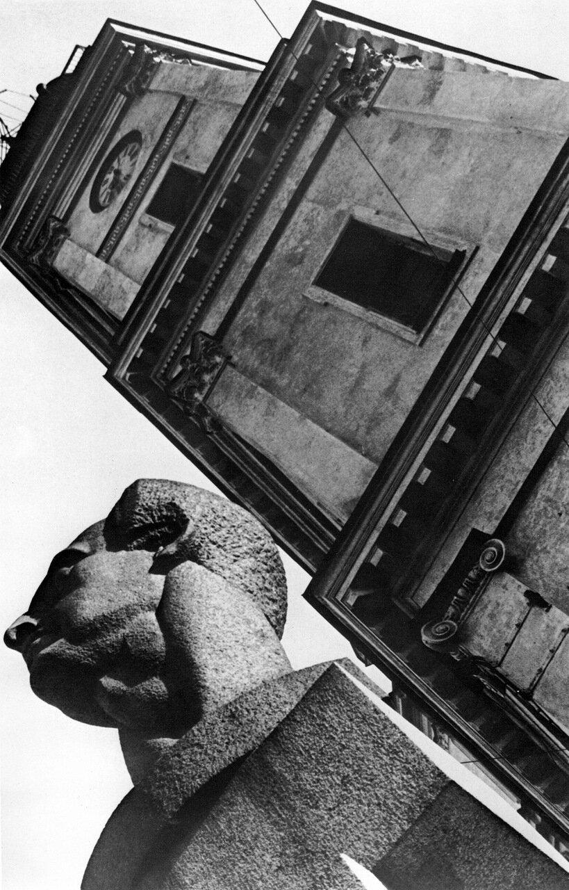 1930. Памятник Ф Лассалю. Ленинград.